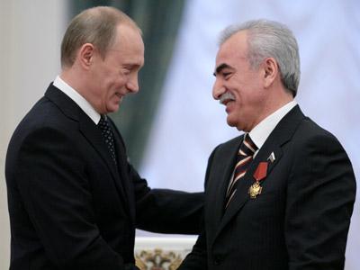 Иван Саввиди и Владимир Путин